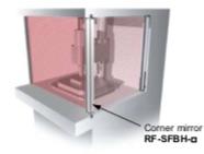 SF2B Barrera Seguridad PANASONIC espejo
