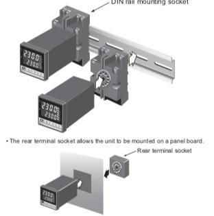 SA100L Controlador Limite temperatura RKC din