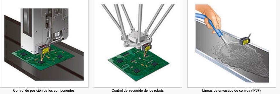 HG-C Laser de medida PANASONIC aplicaciones tipicas