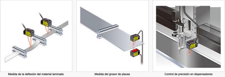 HG-C Laser de medida PANASONIC aplicaciones