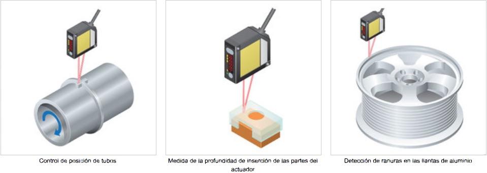 HL-G1 Sensor Laser PANASONIC aplicaciones