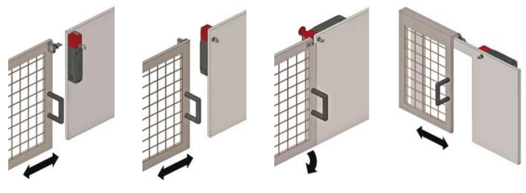 aplicaciones con separador actuador con solenoide de pizzato