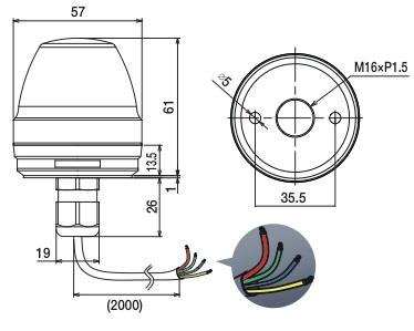 ne-m1-cl7 cableado