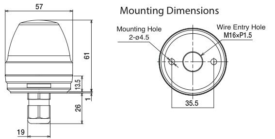 ne-m1-cl7 dimensiones
