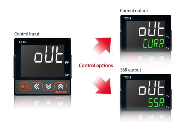 autonics tx salida configurada
