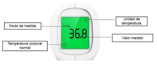 Termometro sin contacto WIKA intuitivo