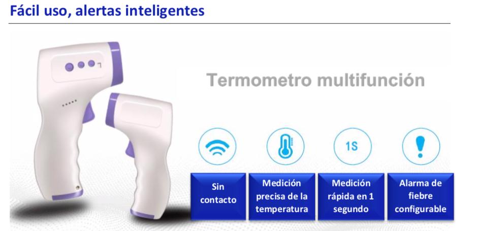 Termometro  sin contacto WIKA